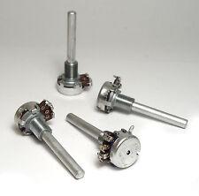 4x Preh Potentiometer Typ 420, 4 kOhm linear, kleine Bauform, lange 6 mm Achse