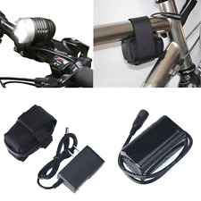 6000mA 8.4V Rechargeable Battery Pack For Outdoor Bike Bicycle Light Charger