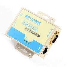 Serial RS232 to RS-485 RS-422 DB9 RJ-45 Data Converter Adapter Optical Isolation