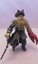 Disney Davy Jones Pirates of Carribean Toy Figure Zizzle Collectable Detailed