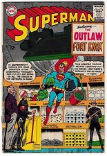 "SUPERMAN #179 (VG+) ""The Outlaw of Fort Knox!"" 1965 Classic DC Silver-Age Issue"