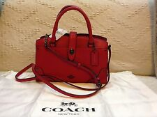 NWT Coach Grain Leather Mercer 24 Satchel Bag Handbag 37779