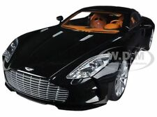 ASTON MARTIN ONE 77 BLACK PEARL 1/18 DIECAST CAR MODEL BY AUTOART 70241