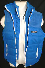 MENS D-STRUCT PROJECT DOUBLE ZIPPERED WINTER VEST SIZE S