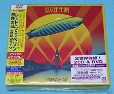 LED ZEPPELIN - CELEBRATION DAY 2CD & 1DVD + BONUS DVD / BOX SET NEW & SEALED