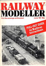 Railway Modeller Magazine - Jun 1980  Loft adaption for layouts. Pull out guide.