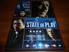 State of Play (DVD, 2009)  Russell Crowe, Ben Affleck Used