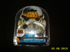 Star Wars Rebels Animated Series Chopper Earbuds Headphones Extra Covers New