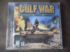 Gulf War Operation Desert Hammer (PC, 1999) Game Windows