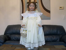 """William Tung - Nicole - Tuss series 2002 collection porcelain 30"""" doll #21 / 600"""