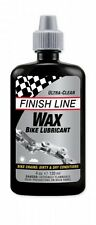 Finish Line Krytech Wax 4oz Bike Lube Chain Oil Drip Bottle Economy Size Ounce