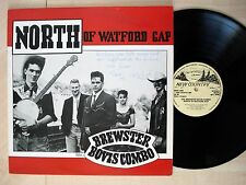 The Brewster Bovis Combo North Of Watford Gap SIGNED UK LP NC 001 1988 EX/NM