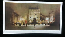 REGENT STREET AND PICCADILLY by Klitz;PRINT