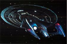 Star Trek First Contact USS Enterprise NCC-1701-E Postcard 6X4