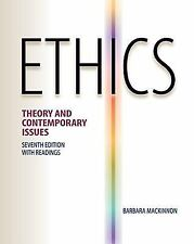 Ethics: Theory and Contemporary Issues by MacKinnon, Barbara