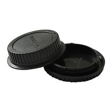 Enduring Best Body Cover + Lens Rear Cap for CANON EF Camera + Lens Protect PEC