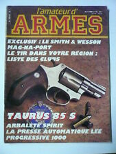 l'amateur d'armes n° 53 SMITH & WESSON 44 MAG NA PORT. Couteau  SHARK BLACK