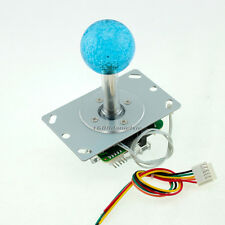Arcade 5V LED Blu-ray Joystick Classic Competition Style 4 - 8 Way Rocker MAME