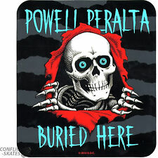 "POWELL PERALTA ""Ripper - Buried Here"" Skateboard 23cm Dealer Window Double Sided"