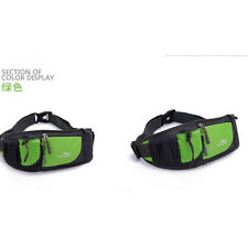 Green Running Jogging Water Bottle Mobile Phone MP3 Holder Waist Belt Bag