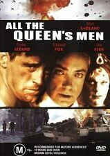 All the Queen's Men (DVD, 2008)  LIKE NEW .... R4