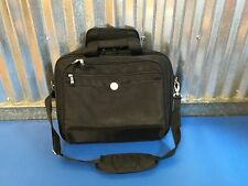 "15"" DELL Black Nylon Laptop Briefcase Bag with Computer Case Compartment"