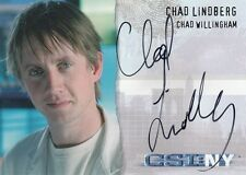 CSI New York Season 1: CSI-NY-A7 Chad Lindberg autograph