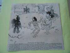 Nos enfants boule de neige correction Fessée Originale Print 1903