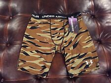 Under Amour Men's Compression Shorts Size Small  Camo New