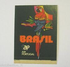 VECCHIO ADESIVO / Old Sticker TAP AIRLINES PORTUGAL COMPAGNIA AEREA AIR (cm 4x5)