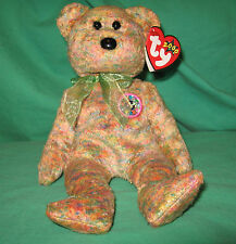 Speckles TY Beanie Baby e Store Internet Exclusive Bear February 17 2000 MWMT