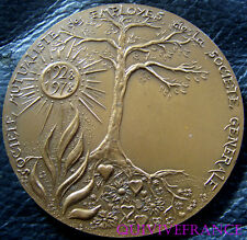 MED3561 - MEDAILLE SOC. MUTUALISTE SOCIETE GENERALE 1978 SANTUCCI - FRENCH MEDAL