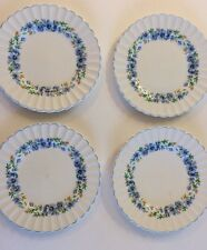 "Set Of 4 J & G Meakin Classic English Ironstone Alpine Mist 7"" Bread Plates"