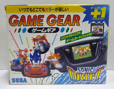 CONSOLE SEGA GAME GEAR SONIC DRIFT SPECIAL EDITION NTSC JAPAN BOXED RARE