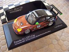 PORSCHE 911 996 GT3 CUP RACE CAR 1:43rd MINICHAMPS DAYTONA GT CLASS WINNER NIB