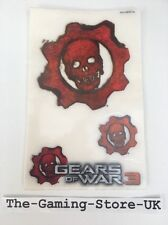 Xbox 360 - Gears Of War 3 Console Stickers (3 In total) NEW Official UK Stock