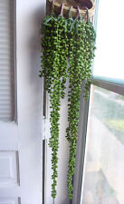 Set of 5 Pearl Bead Hangings Artificial Plant Plastic Wall Decoration