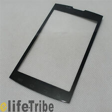 Touch Screen Outer Glass Lens for AT&T Samsung Galaxy S Captivate i897 Black
