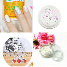 2g Chunky Ice Flakes Nail Art Glitter Festival Dance Party Hexagon Mylar 3pcs