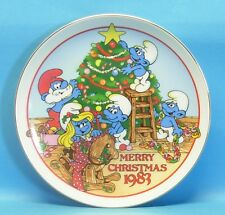 TELLER The Night Before Christmas smurf Merry collectabiles W.Berrie 1983