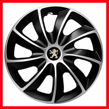 "14"" Peugeot 106 107 206 306 Partner WHEEL TRIMS COVERS  HUB CAPS  SET OF 4 x14''"
