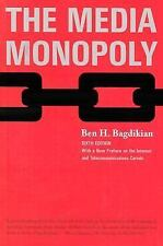 The Media Monopoly 6th Edition Bagdikian, Ben H. Paperback