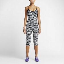 WOMEN'S NIKE PRINTED TRAINING BODYSUIT LEOTARD JUMPSUIT SIZE MEDIUM NWT $105