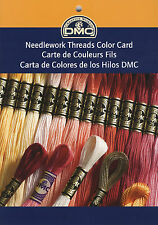 DMC Embroidery, Metallic, Pearl Cotton Floss Printed Color Card #PRCOLCARD