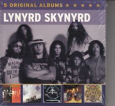 Lynyrd Skynyrd / Second Helping, Vicious Cycle, u.a.  (5-CD-Box-Set, NEU!)
