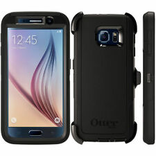 OtterBox Defender Series for Samsung Galaxy S6 w/ Belt Clip & Holster Black New