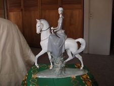 "LLADRO ""FEMALE EQUESTRIAN"" SIDESADDLE LADY ""AMAZONA 4516"" with box RETIRED 1991"