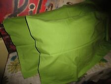 IKEA DVALA GREEN (PAIR) KING PILLOWCASES SHAMS19 X 35 100% COTTON