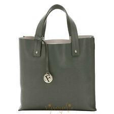 FURLA MUSA SALVIA SAGE SAFFIANO LEATHER DIVIDE-IT TOTE BAG $278 NEW