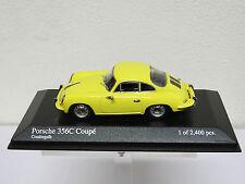 Porsche 356 C Coupé 1963 Yellow Minichamps 430062327 1/43